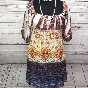 Fleurish Boho Dress